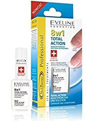 Eveline Cosmetics 8in1 Total Action Nail Conditioner, 1er Pack (1 x 12 ml)