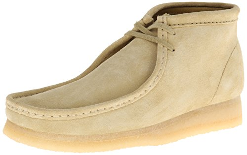 Clarks Originals Wallabee Boot Maple Tan Suede