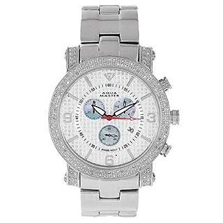 New Aqua Master Stainless Steel 45mm Round 2.25ct Diamond Watch