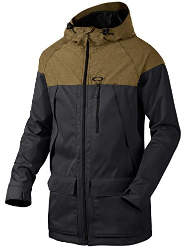 Oakley Herren Silver Fox BZS Jacket Jacke, 24J-Forged Iron, M