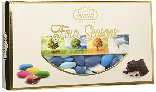 Buratti confetti al cioccolato, mare - 2 x1000 g