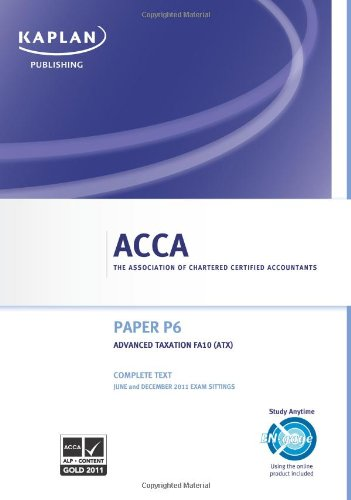 ACCA F1 Accountant in Business - Complete Text 2011