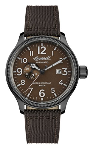 Ingersoll Mens Analogue Classic Automatic Watch with Nylon Strap I02803