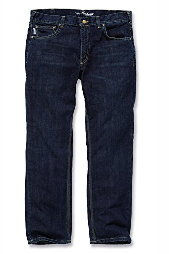 Slim Fit Straight Leg Jeans Rustic Rinse