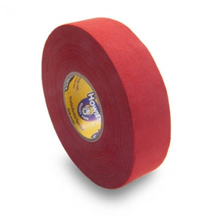 Schlägertape Profi Cloth Hockey Tape 25mm f. Eishockey farbig (rot)