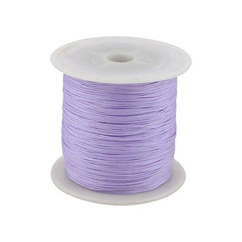 sourcingmap Hogar de nylon trenzado DIY arte del arte chino nudo del cordón de cuerda cuerda 153 yardas