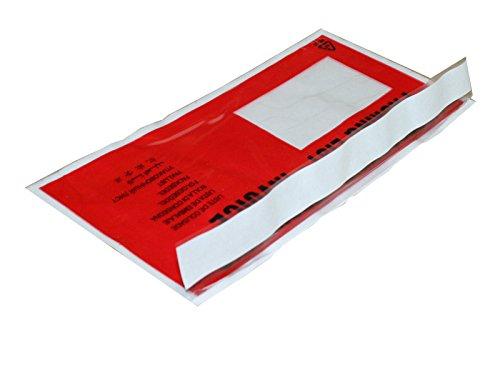 Preisvergleich Produktbild Dokumenten-Versandtasche,  DIN - Lang, VPE 250 Stück