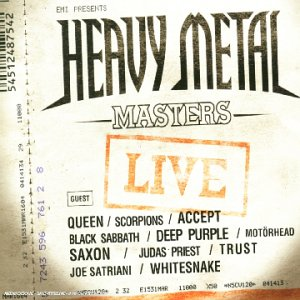 """Afficher """"Heavy metal masters live"""""""