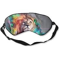 Eye Mask Eyeshade Lion Color Drawing Sleeping Mask Blindfold Eyepatch Adjustable Head Strap preisvergleich bei billige-tabletten.eu