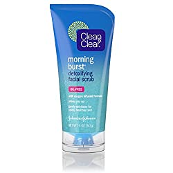 Clean & Clear Morning Burst Detoxifying Facial Scrub, 5 Fluid Ounce