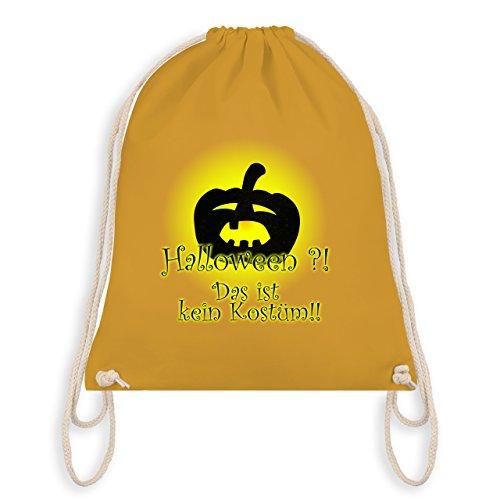 (Halloween - Kein Halloweenkostüm - Unisize - Senfgelb - WM110 - Turnbeutel & Gym Bag)