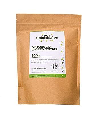 Organic Pea Protein Powder by JustIngredients from JustIngredients