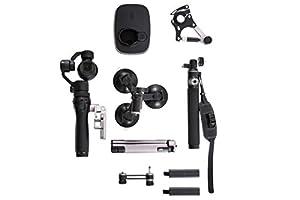 DJI Osmo + Kit de accesorios deportivos negros