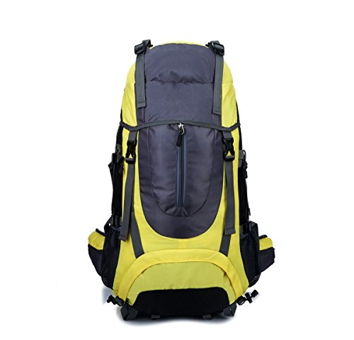 zaino pieghevole leggero leggero impermeabile zaino da viaggio ultraleggero escursionismo outdoor zaino sport esterno bicicletta ciclismo ciclo daypack zaino per alpinista ( color : yellow )