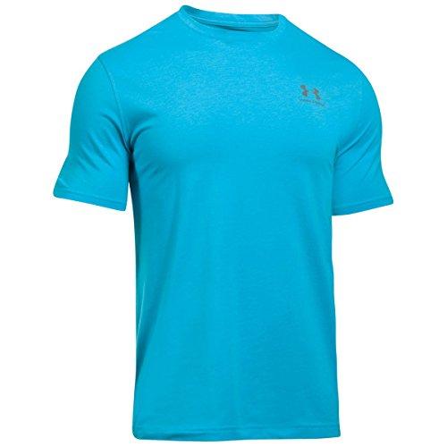 Under Armour Herren Fitness Cc Left Chest Lockup Kurzarm T-Shirt Blue Shift/Graphite
