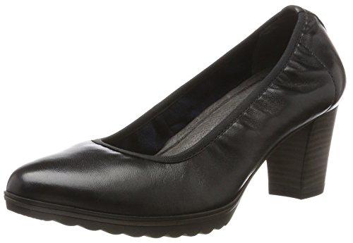 Tamaris 22417, Scarpe con Tacco Donna, Nero (Black Leather), 39 EU