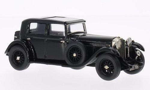 Bentley 8 Litre H.J.Mulliner, schwarz, 1930, Modellauto, Fertigmodell, Brooklin 1:43 Hj H H