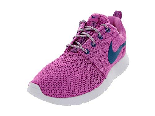 Nike - 511881-448, Scarpe Da Corsa da Uomo Red Violet/Green Abyss/Wolf Grey/White