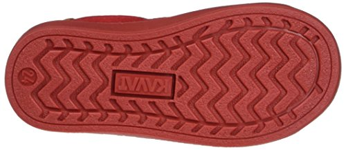 Kavat Södertälje Ep, chaussons d'intérieur mixte enfant Rot (Red)