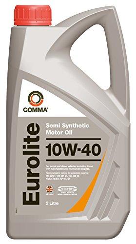 Comma EUL2L Eurolite 10W-40 Teilsynthetisches Motoröl 2L