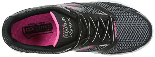 Skechers - Go Run Vortex, Scarpe Da Corsa da donna Black/Hot Pink