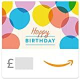 Happy Birthday Balloons -  Amazon.co.uk eGift Voucher