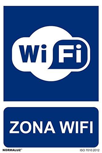Normaluz RD20661 - Señal Adhesiva Zona Wifi Adhesivo