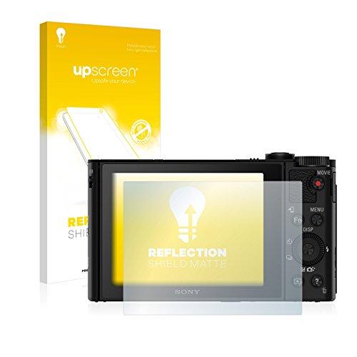 upscreen Schutzfolie Matt passend für Sony Cyber-Shot DSC-WX500 Displayschutz - AntiReflex Anti-Impronte -
