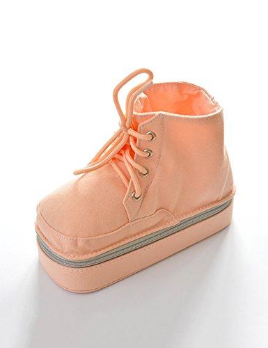Kreativ Stifte Einfache Farbe Stiefel Einfache Canvas Multi-Funktions-Stift Schuhe Bleistift Fall (5 Farben optional) ( farbe : C , größe : 17*12cm ) (Schuhe Canvas Multi)
