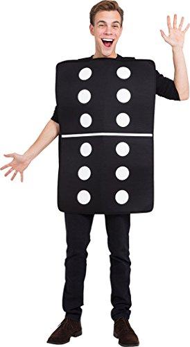 onlyglobal Erwachsene Herren Damen Herrenabend Henne Do Verkleidung Kostümparty Casino Domino Kostüm ()