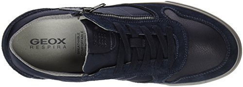 Geox U Box C, Scarpe da Ginnastica Basse Uomo Blu (Navy)