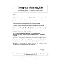 Transplantationsmedizin [Jahresabo]