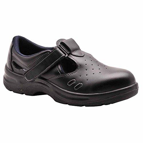 Sicherheit 36 EU SUW Sandale 1 nbsp;Steelite schwarz S1 Arbeit nbsp;– UK 3 schwarz qxTtg