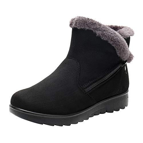 JYJM 2018 Schneestiefel Warm Gefütterte Winterschuhe Outdoor Winterstiefel Stiefel für Damen Herren Shop günstig kaufen Damen Plus Stiefel Schneeschuhe Stiefel Reißverschluss