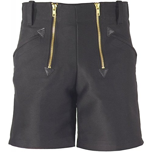 Preisvergleich Produktbild JOB Dachdecker/Zimmermann Zunft-Shorts kurze Hose Doppelpilot schwarz (50)