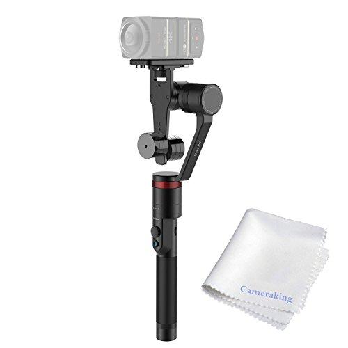 Moza guru 360panoramica telecamera palmare giunto cardanico, smartest video steadycam stabilizzatore per samsung gear 360, nikon keymission 360, casio ex-fr200,360fly action camera, ricoh theta s/sc etc