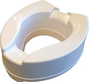 Rehausseur de wc s 39 adapte tous les si ges de toilettes gr ce sa forme ergonomique hauteur - Rehausseur wc bebe ...