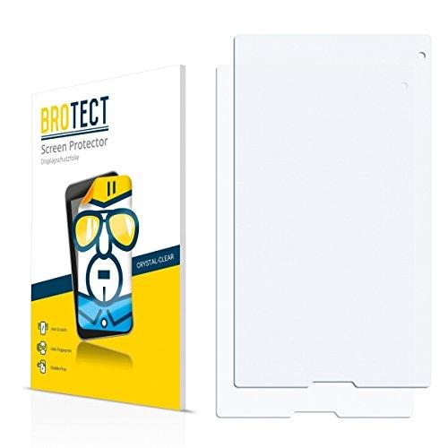 2X BROTECT HD Clear Bildschirmschutz Schutzfolie für Medion Lifetab P8314 (MD 99612) (kristallklar, extrem Kratzfest, schmutzabweisend)