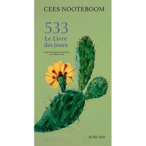 533 : Le livre des jours