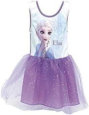 Disney, Vestido de Frozen 2, Vestido para Niñas, Falda de Tutú Ballet 3D, Vestido Elsa de Fiesta de Cumpleaños
