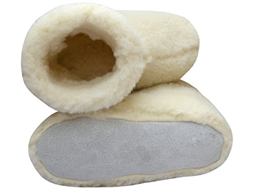 BeComfy , Chaussons pour homme Creme+Box