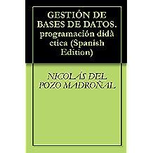 GESTIÓN DE BASES DE DATOS.programación didàctica