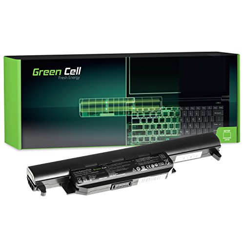 Green Cell® Standard Serie A32-K55 Laptop Akku für Asus F55 F55A F55C F75 F75A F75V F75VB F75VC F75VD R704 R704A R704V R704VB R704VC R704VD (6 Zellen 4400mAh 10.8V Schwarz)