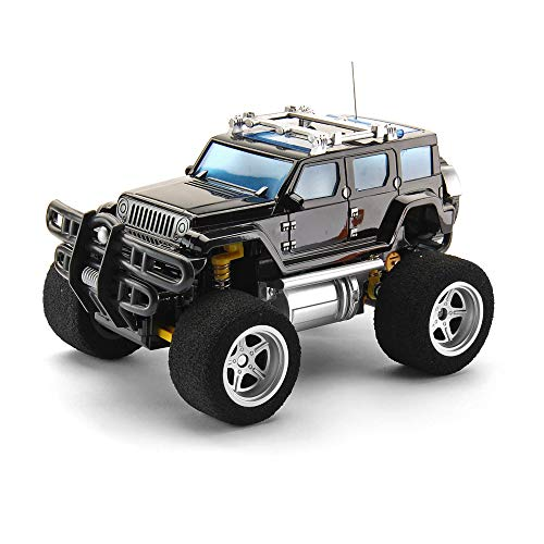 ACOC Crenova Elektro Offroad Ferngesteuertes Auto RTR Buggy RC Monster Truck 1:18 2WD 2,4 Ghz High Speed Mit 2 Wiederaufladbaren Akku Coole Lichter, Kinderspielzeug, Spielzeug Geschenk