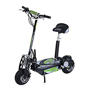 Homcom 36v 1000w foldable electric youth adult motorized for Fold up scooters motorized