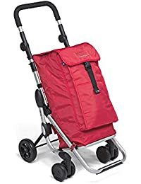 """Foppapedretti """"Go Up"""" Shopping Trolley red"""