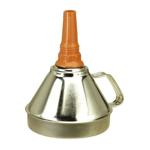 SEALEY FUNNEL METAL WITH FILTER 160MM