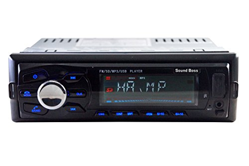 sound boss sb-3246bt detachable car stereo with bluetooth Sound Boss SB-3246BT Detachable Car Stereo with Bluetooth 41TGrO4Hj7L