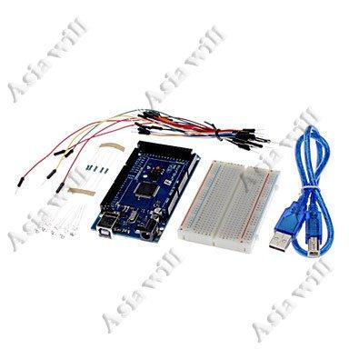 Asiawill MEGA 2560 DIY combinazione Funduino 2560 R3 scheda di sviluppo compatibile con le sperimentali ARDUINO