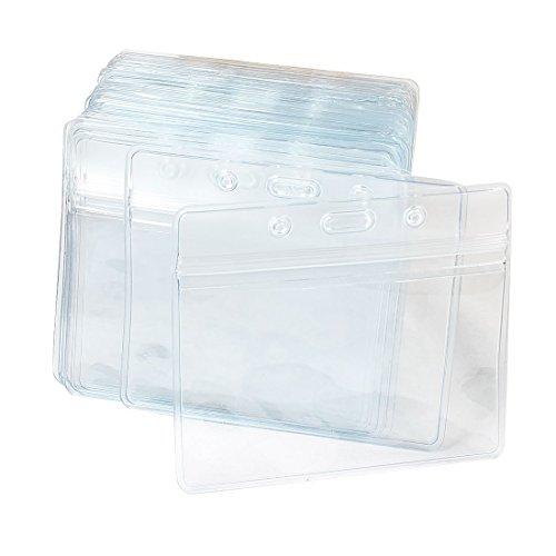 sourcingmap-plastico-horizontales-nombre-etiqueta-badge-id-titular-de-la-tarjeta-paquete-de-50